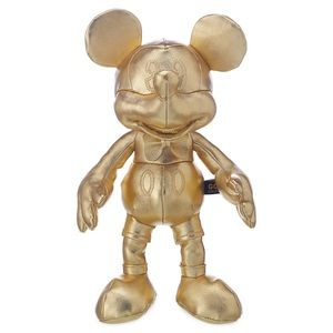 Small Gold Mickey Mouse plushie